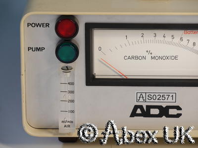 Analytical Development (ADC) PM2 Carbon Monoxide Meter (detector)