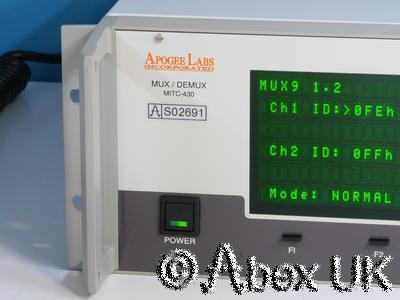 Apogee Labs MITC-430 Falcon Mux/Demux ADC8 DAC8 MUX9 DEMUX9 TAI1 TAO1 PACK2 (#2)