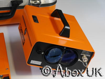 Geodimeter 114 Laser Rangefinder with Manual and Carry Case