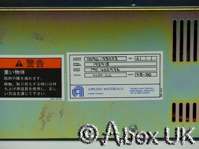 Advance Hivolt OL1000/103/04 -10kV 100mA Power Supply AMAT 0090-93023