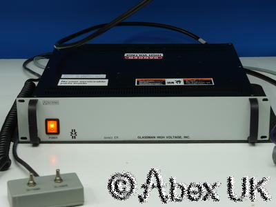 Glassman ER 15N20 High Voltage Power Supply 0-15kV 0-20mA 300w Applied Materials
