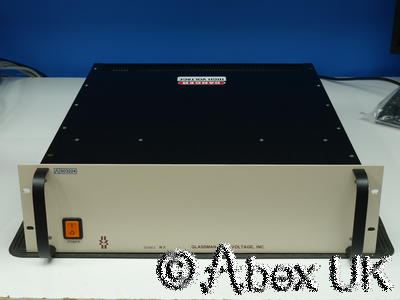 Glassman WX10N100-Y66 Power Supply 0-10kV 0-100mA 1kW High Voltage Applied Materials