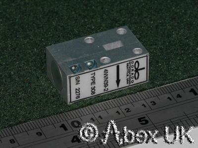 Dorado 308 WG22 Isolator, 33 - 40GHz**  See Plot