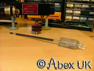 EEV CV6208 1W TWT  TWTA 9GHz Travelling Wave Tube Amplifier NOS