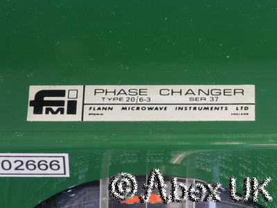 Flann 20063 WG20 WR42 Phase Shifter Changer 17.6 - 26.7GHz