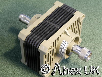 HP (Agilent) 8498A 25 Watt 30dB 18GHz Type N Attenuator
