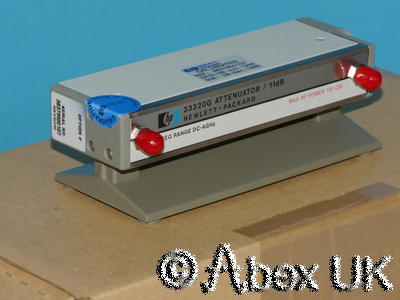 HP (Agilent) 33320G Step Attenuator, 0-11dB, 1dB Steps NOS
