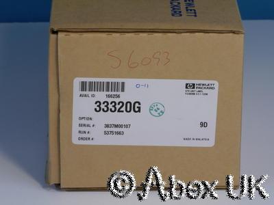 HP (Agilent) 33320G Step Attenuator, 0-11dB, 1dB Steps NOS