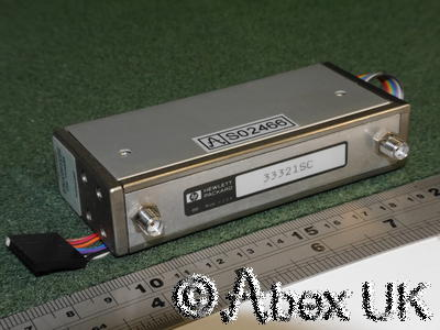 HP (Agilent) 33321 Certified 70dB Reference Attenuator Calibration Data to 20GHz