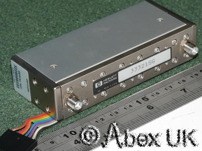 HP (Agilent) 33321 Certified 35dB Reference Attenuator Calibration Data to 20GHz