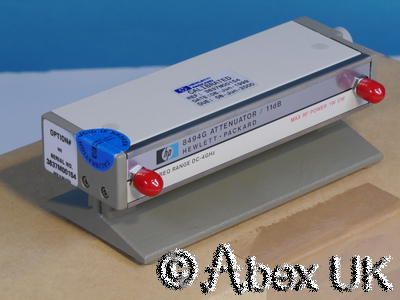 HP (Agilent) 8494G Step Attenuator, 0-11dB, 1dB Steps NOS