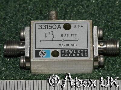 HP (Agilent) 33150A Bias Tee, 0.1 - 18GHz SMA