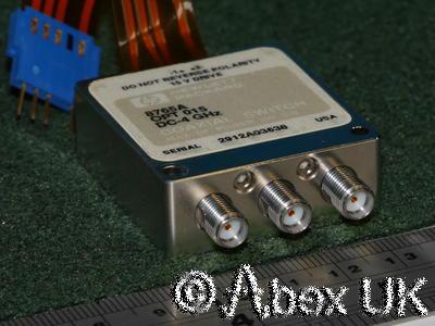 HP (Agilent) 8765A SMA SPDT Microwave RF Switch 18GHz*