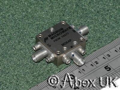Magnum Microwave MO64P Double Balanced Mixer, Octave Band, 6.0 - 12.5GHz