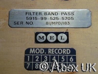 MEL 5705 Filter, Band Pass, 2.0 - 4.0GHz