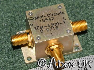Mini Circuits ZEM-4300 +7dBm Mixer, 300 - 4300MHz