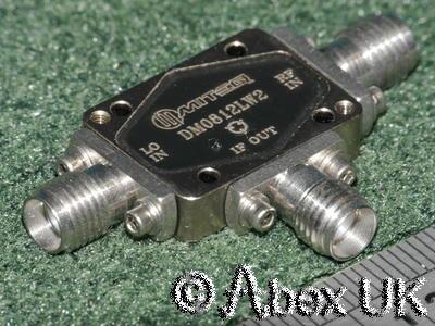 Miteq DM0812LW2 8-12GHz Double Balanced Mixer 10.368