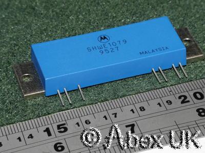 Motorola SHWE1079 (MHW720A2) 25W RF Power Amplifier Module 430-470MHz 70cm NOS