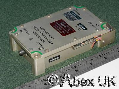 Plessey PLA100L RF Power Amplifier, UHF 225-400MHz, 100 Watts SMA