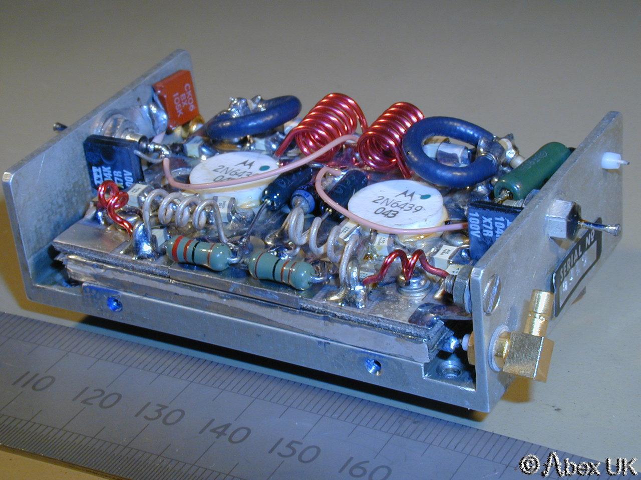Plessey Pla100s Tiny Rf Power Amplifier Uhf 225 400mhz