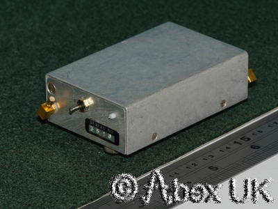 Plessey PLA100S Tiny RF Power Amplifier, UHF 225-400MHz, 100 Watts SSMB