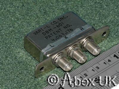 Vari-L DBM-601 Double Balanced Mixer 0.5 - 8.0GHz +13dBm SMA