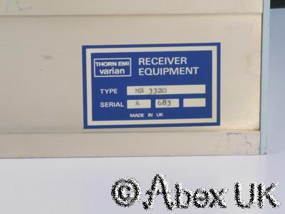 Thorn EMI Varian MS3320 Microwave Receiver Head Unit 0.5 - 2GHz