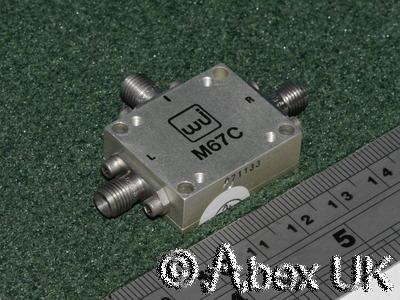 Watkins Johnson M67C Double Balanced Mixer 9.0 - 15.0GHz +7dBm SMA
