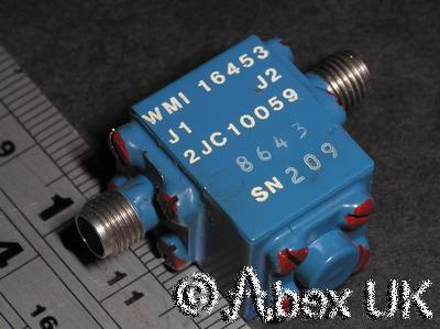Western Microwave 2JC10059 Broadband Isolator 12 - 18GHz SMA Certified