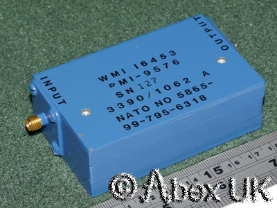 Western Microwave PMI-9576 Broadband (Peripheral Mode) Isolator 2 - 6 (8)GHz SMA