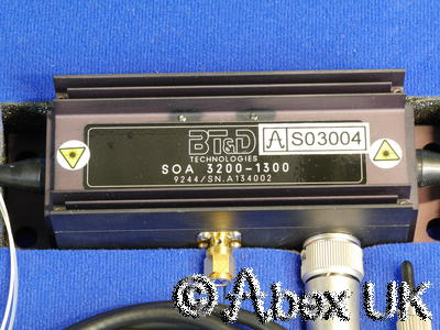 BT&D SOA3200-1300 Fiber Amplifier 1300nm