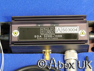 BT&D SOA3200-1300 Fiber Amplifier 1300nm