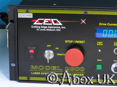CEO Cutting Edge Optronics 2800 Diode Laser System Controller