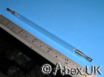 ILC LZ1308 Large Xenon Flash Lamp 15mm Diameter, 205mm Arc NOS