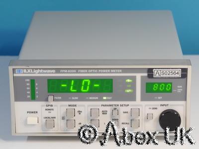 ILX Lightwave FPM-8200 Fiber Optic Power Meter (2)