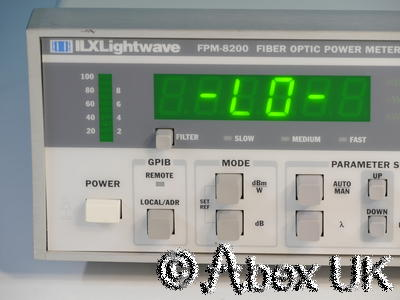 ILX Lightwave FPM-8200 Fiber Optic Power Meter (2)