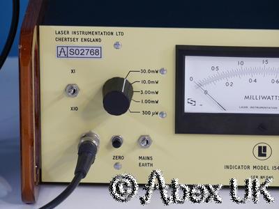 Laser Instrumentaion 154BTBroadband Thermopile Laser Power Meter - Nice!