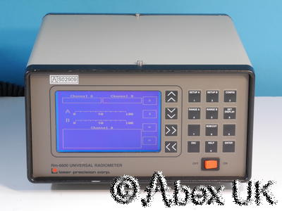 Laser Probe (Precision) RM-6600 Universal Radiometer (Power / Energy Meter) (1)