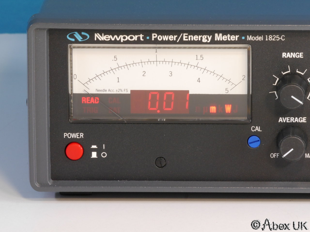 Laser Energy Meters : Newport c laser power energy meter universal input