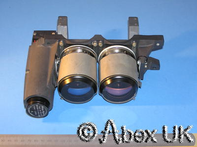 TWO Philips (Photonis) XX1080 50mm Image Intensifier Tubes with EHT PSU