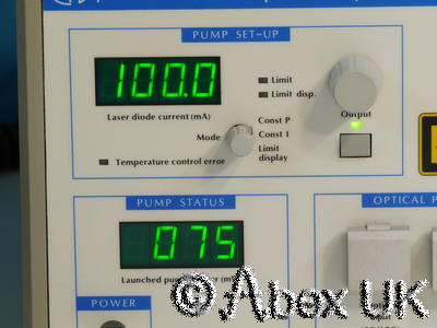Photonetics (Anritsu) BT-17 Erbium Fiber Amplifier 25dB Gain 50mW 1525-1560nm