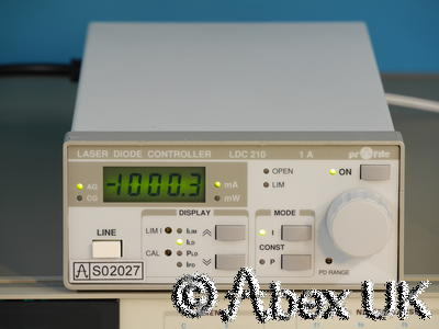 Profile (Thor Labs) LDC210 1A Laser Diode Controller (2)