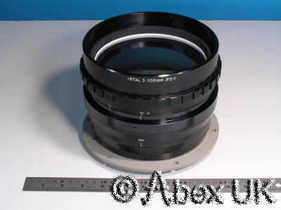 100mm F0.7 Germanium Thermal Imager Lens Rank Taylor IRTAL Super-Fast Objective