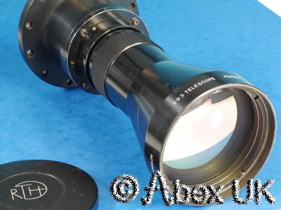 Rank Taylor Hobson 100mm X9.3 Thermal Imager Telescope (LW) Germanium