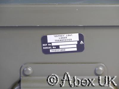 Thales? Osprey LV400 / FV2105-101-91 Laser Transceiver YAG