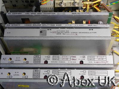 Continental Microwave VFL80-R Satellite Downlink Receiver 8.64GHz