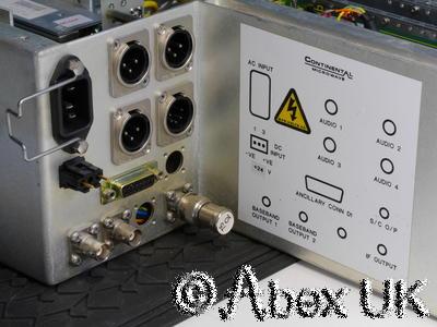 Continental Microwave VFL80-R Satellite Downlink Receiver 8.64GHz