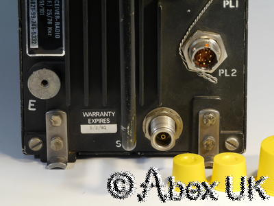Plessey PTR1751BB VHF/UHF Transceiver Aircraft Radio (1)