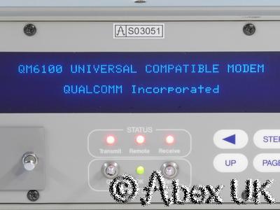 Qualcomm QM6100 Universal Satellite Modem