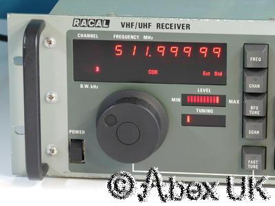 Racal RA1795 VHF/UHF Comms Receiver Multimode 20 - 512MHz AM/FM/USB/LSB/CW (4)